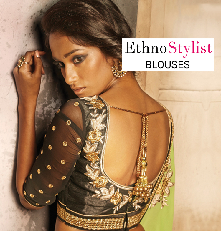 EthnoStylist Blouses – Your Blouse Your Way