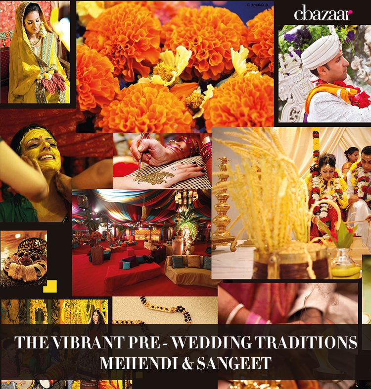 The Vibrant Pre-Wedding Traditions – Mehendi & Sangeet