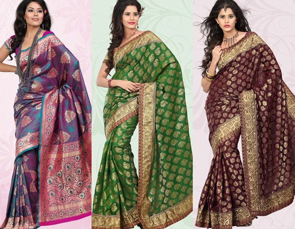 Latest Collection Of Banarasi Sarees