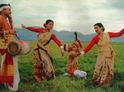Assam Brings in their Harvest with Bhugali Bihu