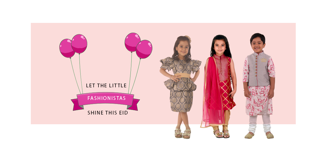 Let the Little Fashionistas Shine This Eid