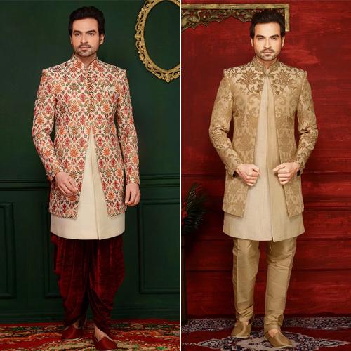 Fabric Sherwani