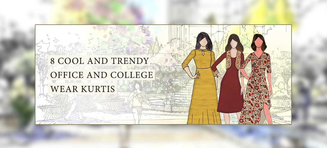 8 Cool and Trendy Office and College Wear Kurtis