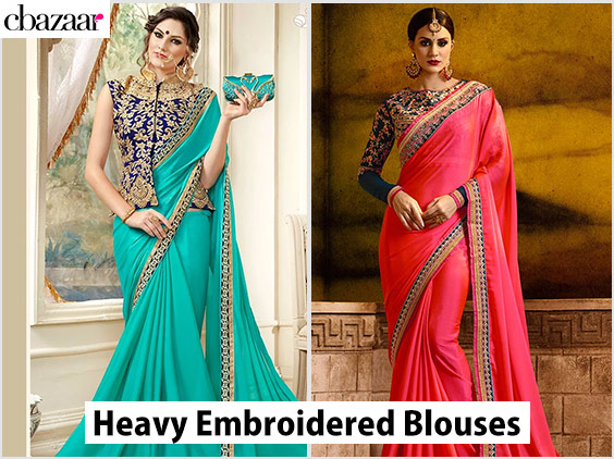 Heavy Embroidered Blouses