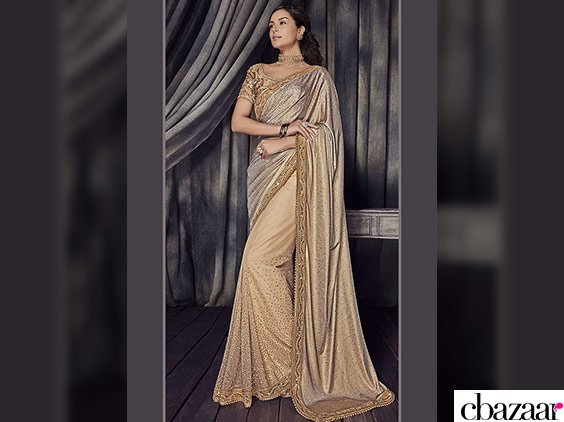 Shine in Shimmery Sarees