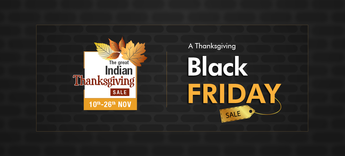 A Thanksgiving Black Friday Sale!