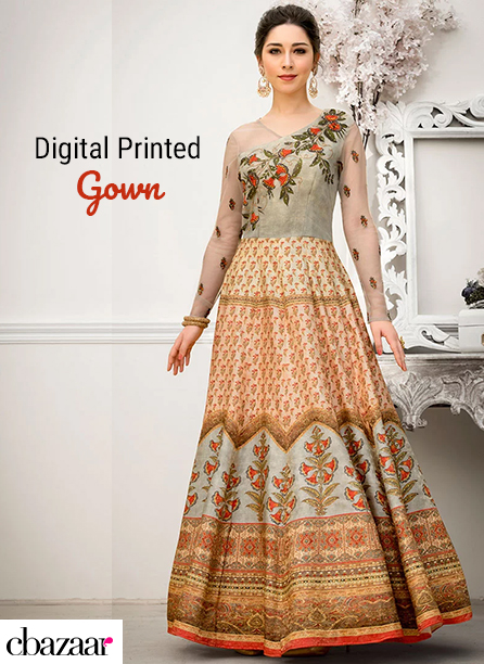 Digital Printed Gowns