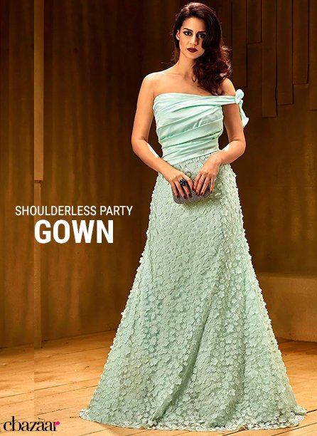 Shoulderless Party Gowns