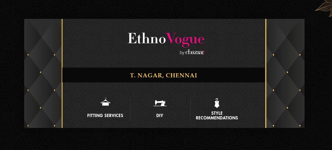 EthnoVogue Store – T.Nagar, Chennai