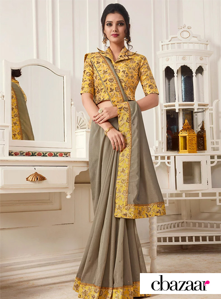 grey-embroidered-saree