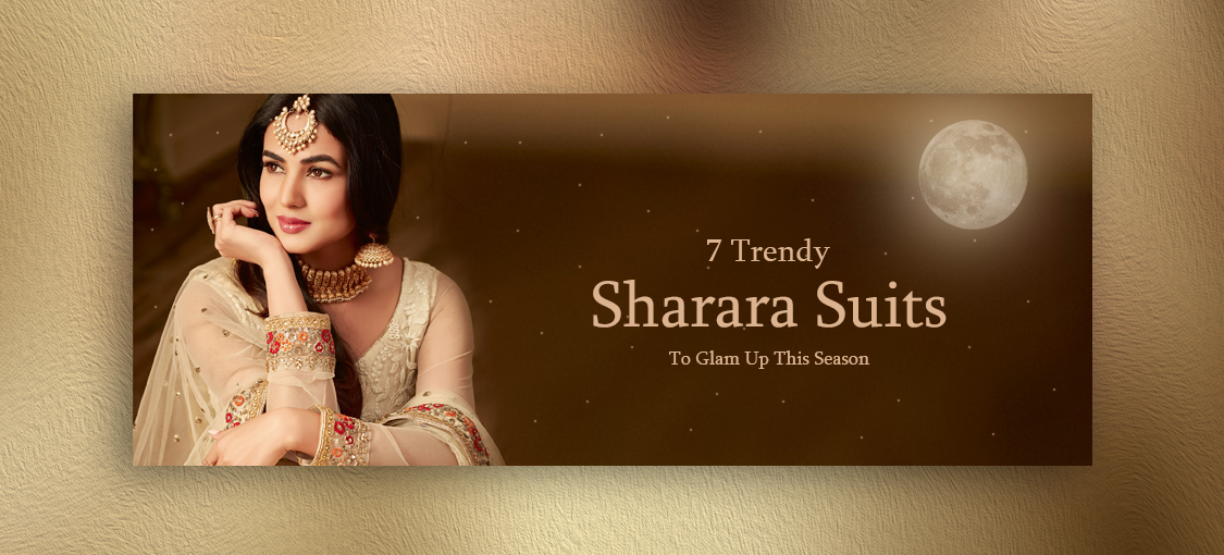 7 Trendy Sharara Suits To Glamp Up This Season