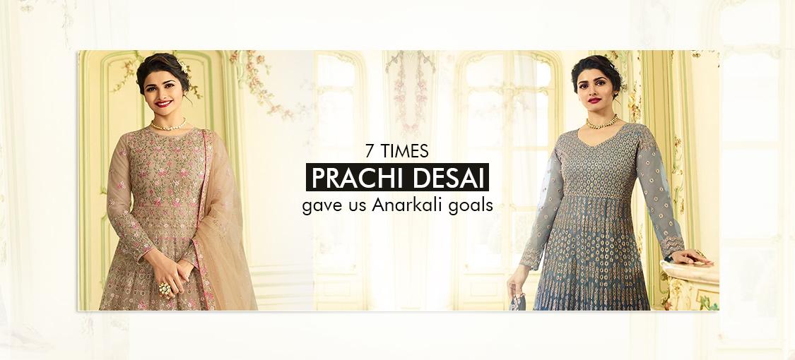 7 Times Prachi Desai Gave Us Anarkali Goals