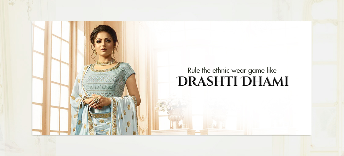Rule the ethnic wear game like Drashti Dhami