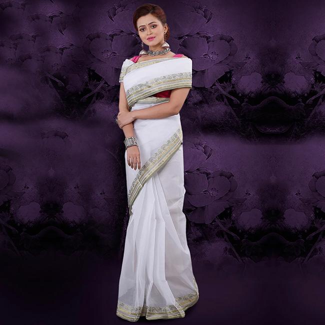 White Tangail Cotton