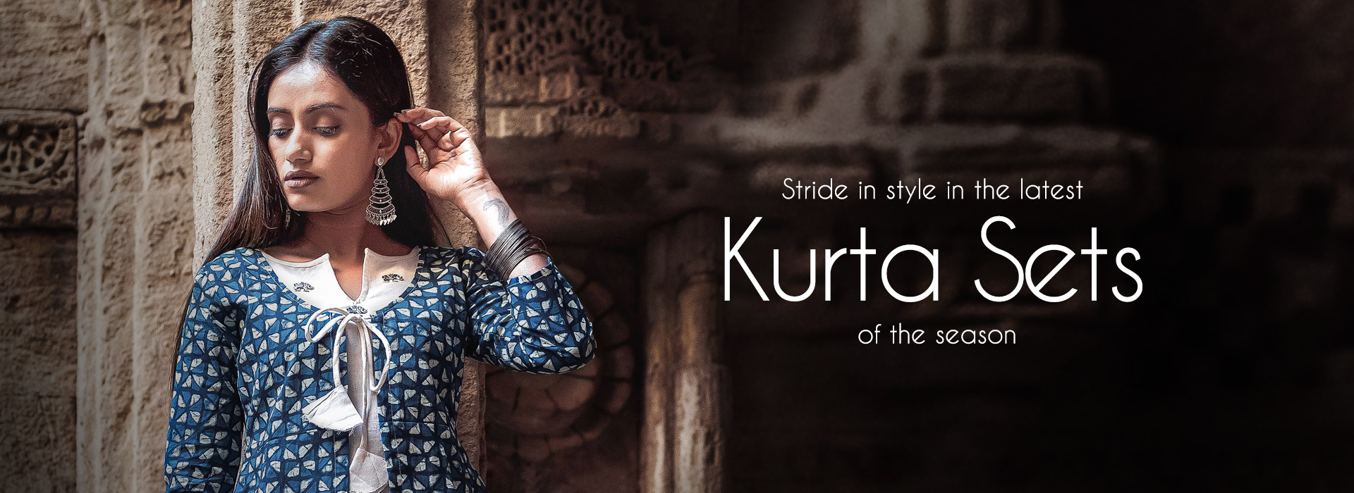 Stride in style in the latest Kurta Sets of the season