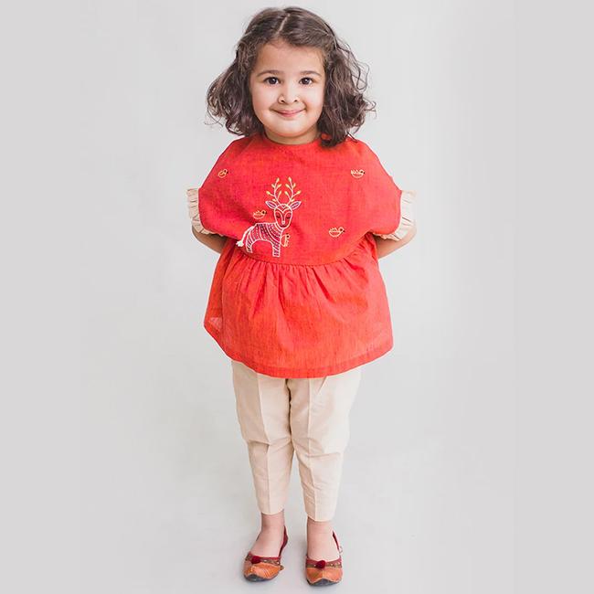 Red Blended Indo western