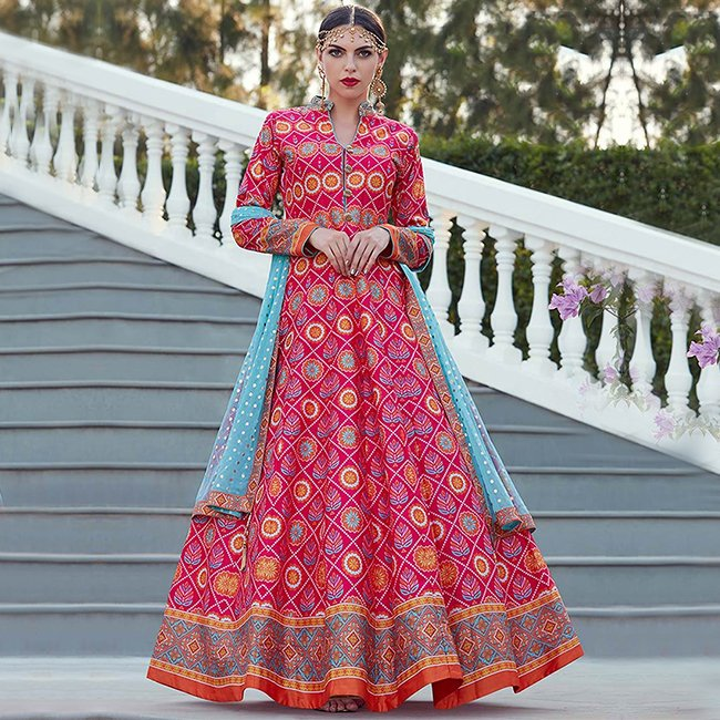Allure in Anarkali Suits