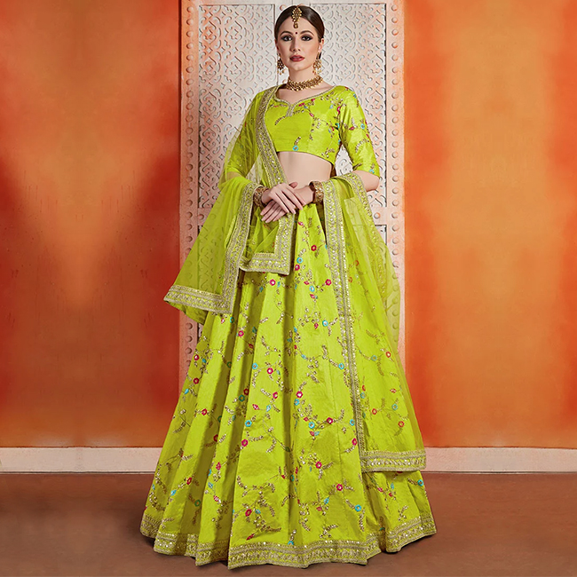 For the love of Lehengas