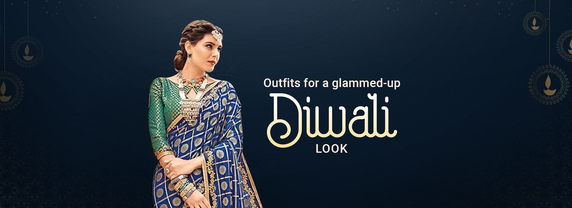 Outfits for a glammed-up Diwali look