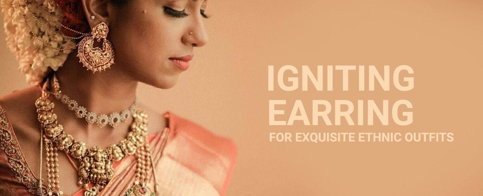 Igniting Earring For Exquisite Ethnic Outfits