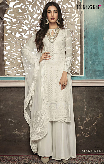 Sonal's Gorgeous Georgette suit