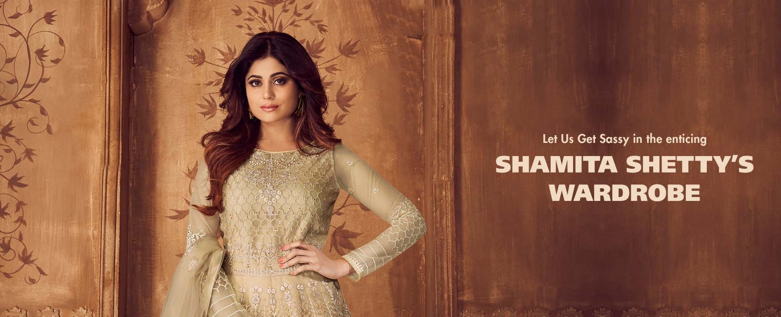 Let Us Get Sassy in the enticing Shamita Shetty's Wardrobe