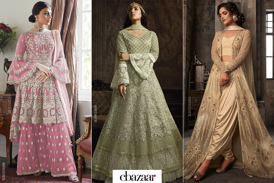 Straight from Fairytale - Pastel Salwars