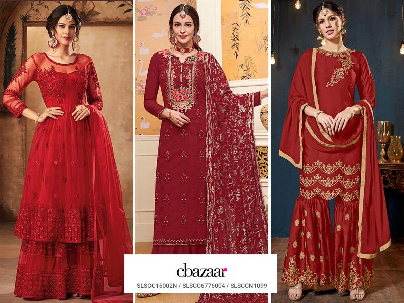 The Ruby Royal Affair - Sharara outfits