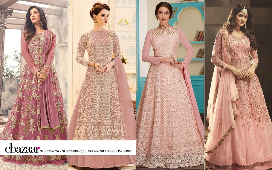 Celebrity inspired Abaya style Anarkali