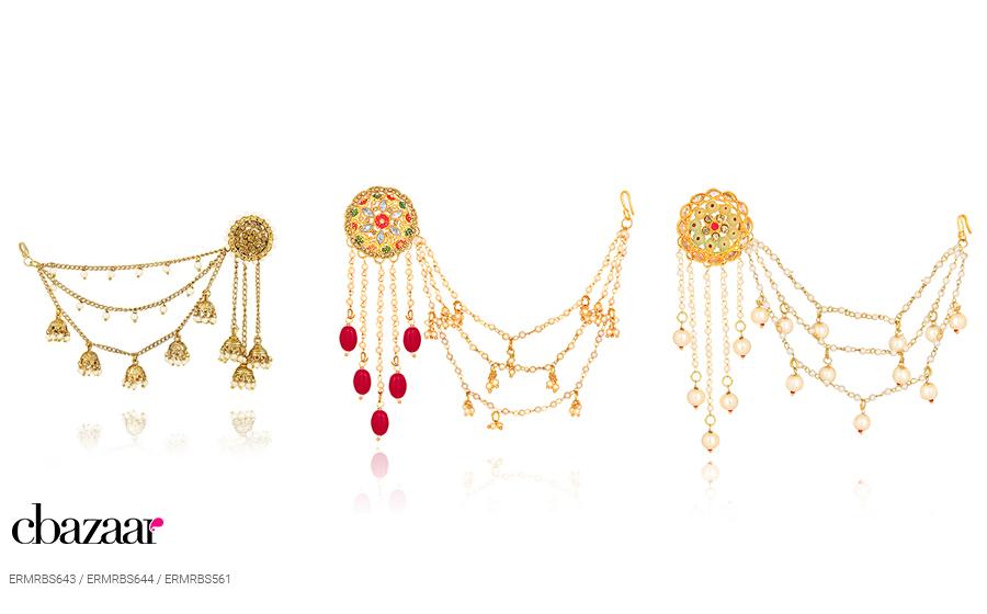 The Majestic Bahubali Inspired earrings