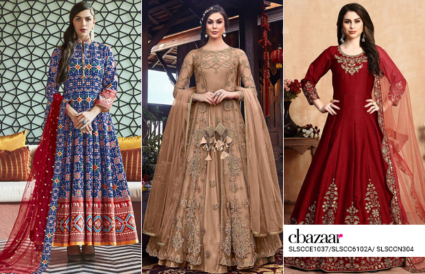 Princess Diaries - Abaya Style Anarkali Suits