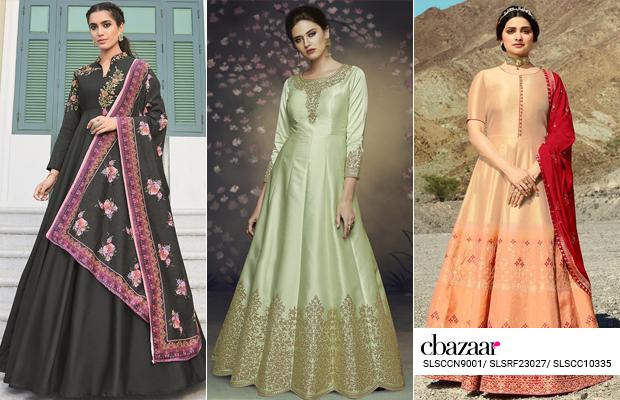 Regal Beauty - Georgette Anarkali Suits