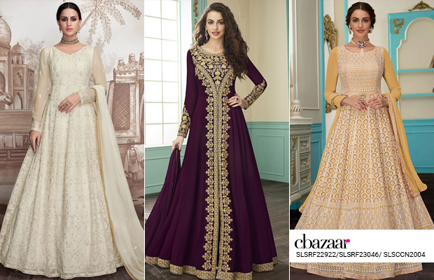 No Fuss - Jacket style Anarkali suits