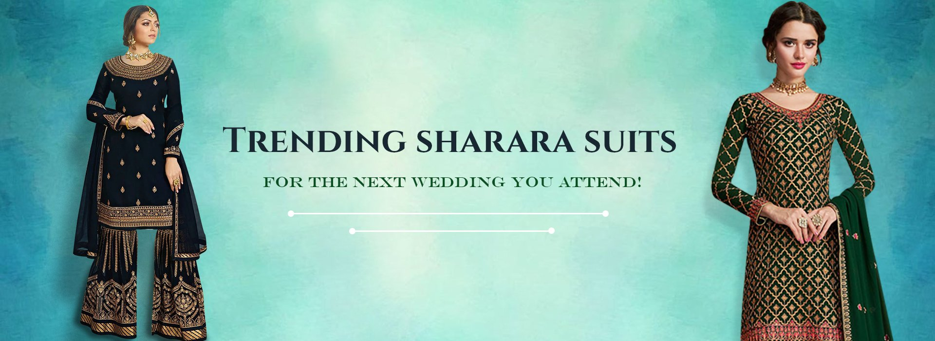 Trending Sharara Suits For The Next Wedding You Attend!
