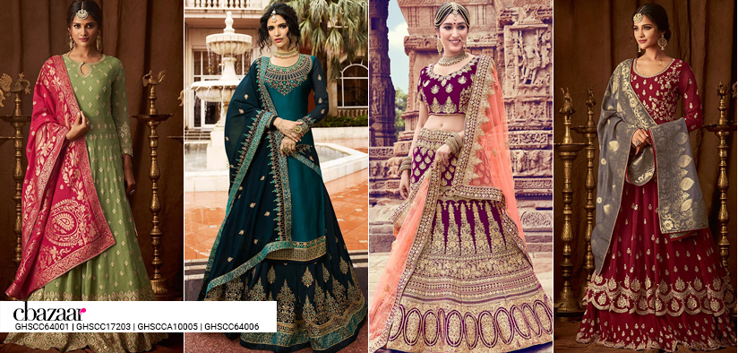 Relive your Wedding Day - Lehengas