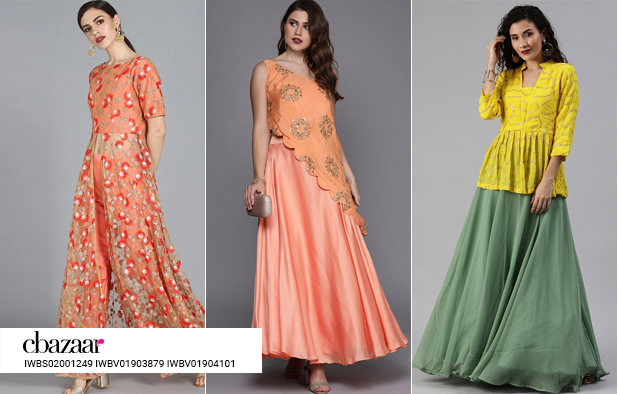 Slay in Indo western Karva Chauth outfits