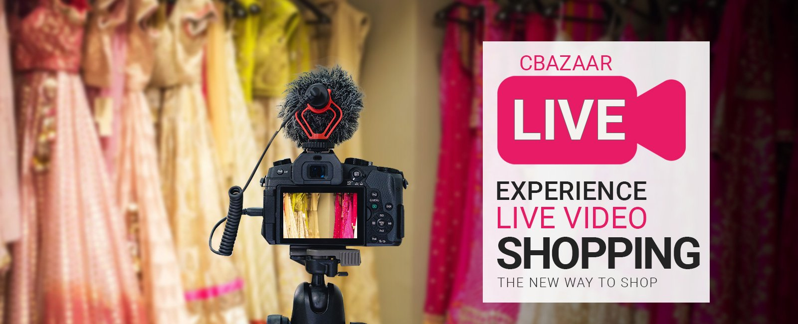 Cbazaar LIVE Experience The New Way To Shop
